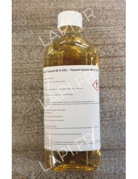Solution thymol 40 % ( 500 ml )